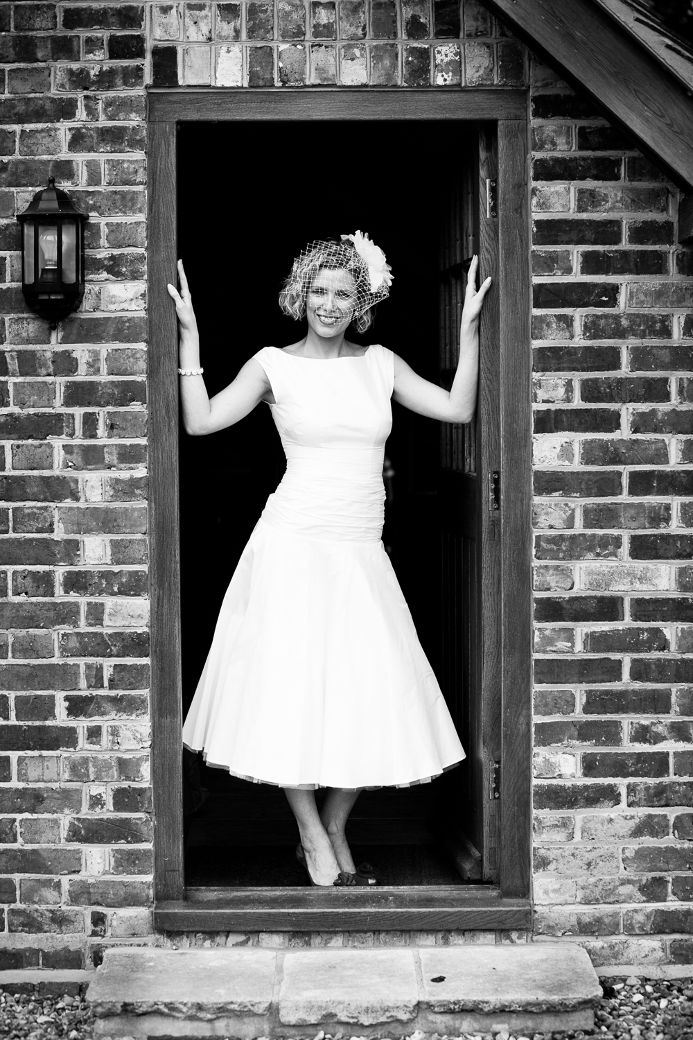 50's style bespoke silk wedding tea dress