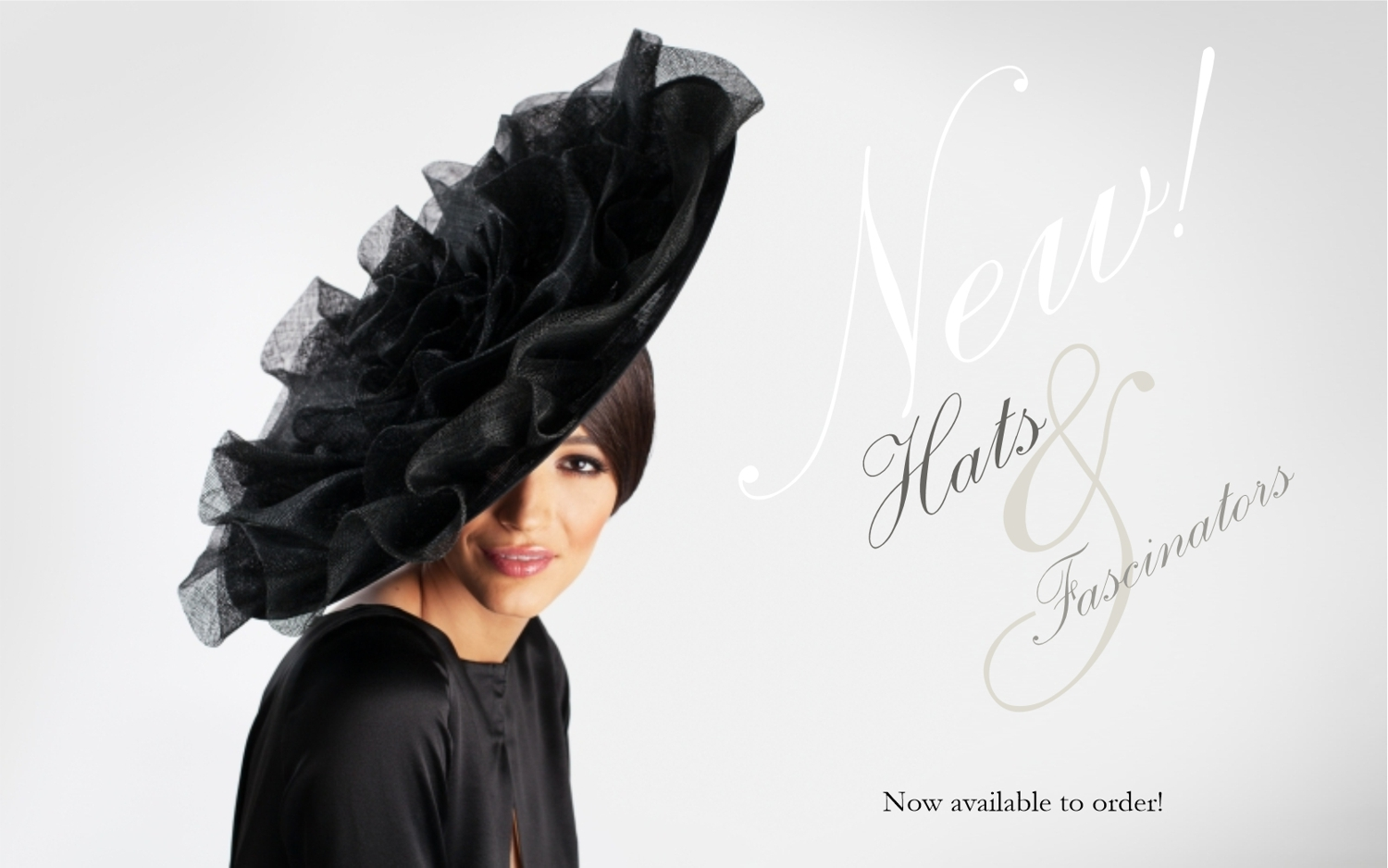 Ladies occasion and race hats and millinery