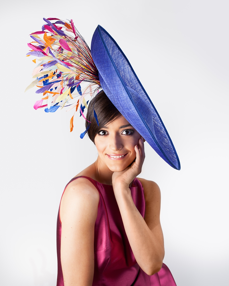 Custom made ladies designer occasion and race hats and fascinators in London