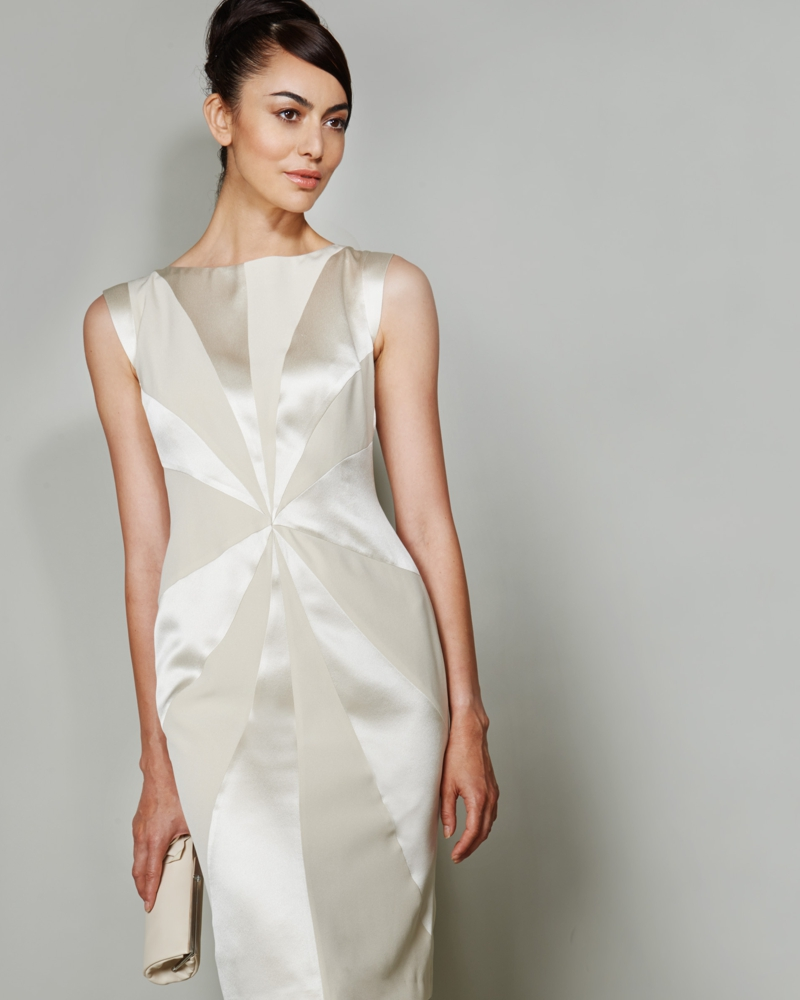 Bespoke ladies made to measure couture cocktail dress