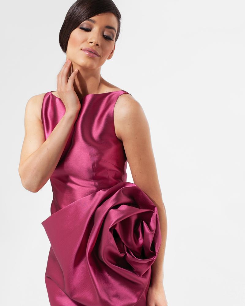 Women's custom made designer couture cocktail dress